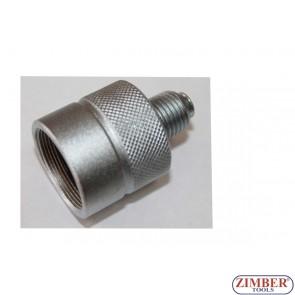 Adaptor for ZR-36INP09, BGS 62635 M27 x 1.0 (ZR-41PINP09) - ZIMBER TOOLS.