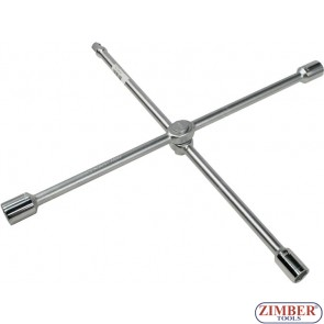 """Foldable cross-handle socket wrench  17mm, 19mm, 21mm - 1/2"""" - 681500- FORCE"""