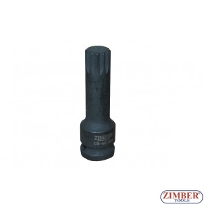 "1/2""DR Impact Socket Bit M18 - 78mm - ZR-14ISB12M18 ZIMBER - TOOLS"