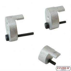Belt installing tool set, 3pcs. ZR- 36BITS3 - ZIMBER TOOLS