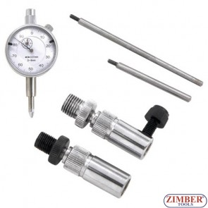 Bosch VE Fuel injection pump adapter and timing clock set - ZIMBER TOOLS