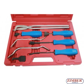 Brake Service Tool Set / Spring Installer Remover Adjustment Spoons ZIMBER