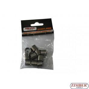 10PCS Thread Repair Inserts, M10 X 1.5 X 13.5mm - ZT-04186F - SMANN TOOLS