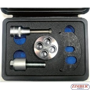 CRANKSHAFT TURNING/HOLDING KIT-FOR BMW/MINI (1.2L, 1.5L, 2.0L) - ZR-36CTHK - ZIMBER TOOLS.