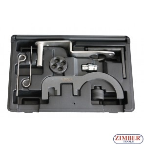 Diesel Engine Setting/Locking Tool Set BMW 2.0/3.0 D N47/N47S/N57  - ZR-36ETTSB70- ZIMBER TOOLS