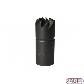 Diesel Injector Nozzle Cleaner Reamer -Angled-120°- 1pc 15.5x15.5mm. ZR-41FR09 - ZIMBER TOOLS.