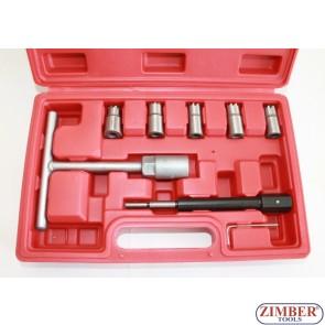 Diesel injector seat cutter set 8pcs, ZT-04777 - SMANN TOOLS