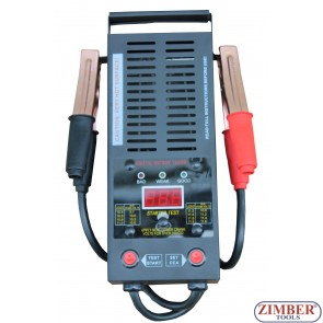 Digital Battery Load Tester,12V 200-1,000 Amps - ZT-04D3002 - SMANN TOOLS.