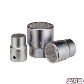 Drive socket 33mm 3/4  12 pt. 56933 - FORCE