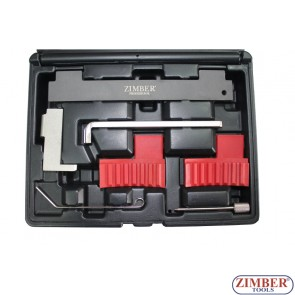 Engine Camshaft Locking Alignment Timing Tool Kit for Fiat, Alfa Romeo, Vauxhall / Opel 1.6 16V 1.8 16V, ZR-36ETTS185 - ZIMBER TOOLS.