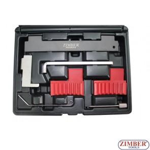 Engine Camshaft Locking Alignment Timing Tool Kit for Fiat, Alfa Romeo, Vauxhall / Opel 1.6 16V 1.8 16V, ZR-36ETTS185 - ZIMBER TOOLS.