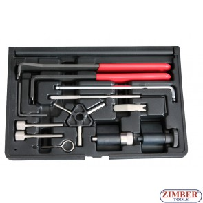 Engine Timing Tool  Pumpe Duse/Common Rail Vw Audi Skoda VAG 1.2,1.4,1.9,2.0 TDI PD,ZR-36ETTS159-ZIMBER TOOLS