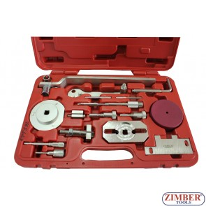 Engine Timing Tool Set for FIAT-IVECO-FORD and PSA Engines, ZR-36ETTS92 - ZIMBER TOOLS.