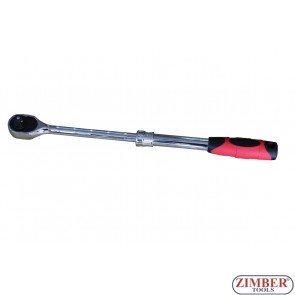 "Extendable Ratchet Handle 1/2""Dr. ZR-04RHE12 - ZIMBER TOOLS"