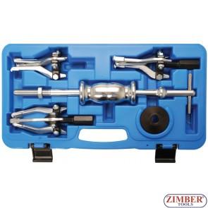 External / internal Puller Set | 5 pcs - 7734 - BGS technic.