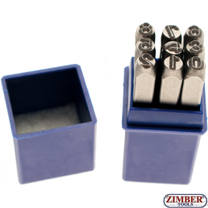 Figure Punch Set, 8 mm - BGS
