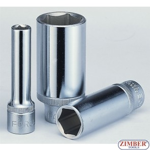 "1/2"" Dr. 27-mm Deep Socket - 6pt - 5457727 - FORCE."