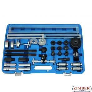 Master Injector Extractor Kit with Hydraulic Cylinder - ZT-04A3117 - SMANN TOOLS.
