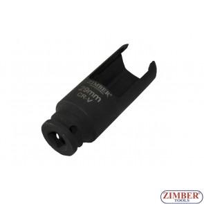 "1/2""Dr. x 28mm Injector Socket"