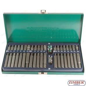 40  PCS  MECHANICS BITS SET, S29H4142SM - JONNESWAY .