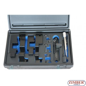 CAMSHAFT CRANKSHAFT TIMING CRANK LOCKING TOOL KIT LAND ROVER, RANGE ROVER TDV8 V8 3.6 - ZR-36ETTS259 - ZIMBER TOOLS.