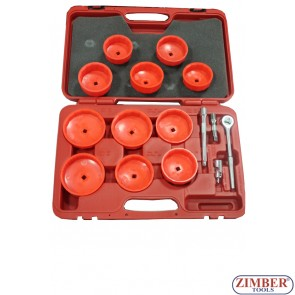 16pc Cup type Oil Filter Wrench Set, ZR-36OFW16 - ZIMBER TOOLS.