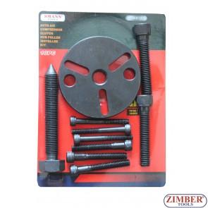 AUTO A/C COMPRESSOR CLUTCH HUB PULLER INSTALLER KIT , ZT-04D1026 - SMANN - TOOLS