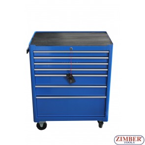 7-Drawer Roller Tool Cabinet  With Hand Tools, ZT-01Y0112-1 - SMANN TOOLS.