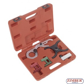 Petrol Engine Setting /Locking Tool Kit 5pc - GM, Saab - ZIMBER-TOOLS.