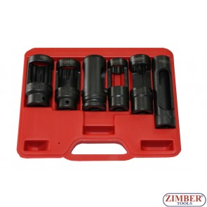 6-piece oxygen sensor wrench set - ZIMBER