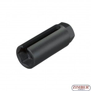 Oxygen Sensor Socket, Size 22 mm x 1/2' hex - ZR-41VSS01- ZIMBER-TOOLS