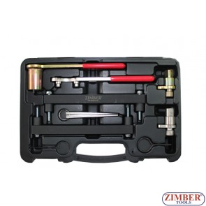 Petrol Engine Setting/Locking Tool Kit - Jaguar, Land Rover 3.2, 3.5, 4.0, 4.2, 4.4 V8 - Chain Drive, ZR-36ETTS74 -ZIMBER TOOLS.