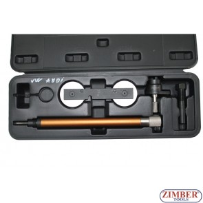 Petrol Engine Twin Camshaft Setting / Locking Tool Set - VAG FSI, TFSI 1.2L ,1.4L,  1.6L - ZIMBER-TOOLS.
