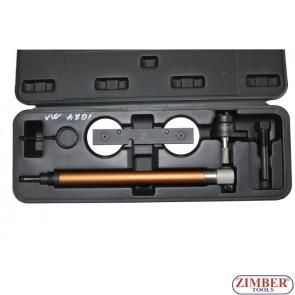 Petrol Engine Twin Camshaft Setting / Locking Tool Set - VAG FSI, TFSI 1.2L ,1.4L,  1.6L - ZIMBER-TOOLS.