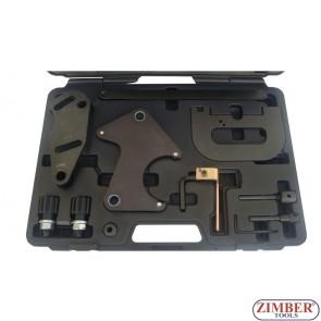 Petrol Engine Twin Camshaft Setting/Locking Tool Kits Renault 1.4,1.6,1.8,2.0 16v, ZR-36ETTS11302 - ZIMBER-TOOLS