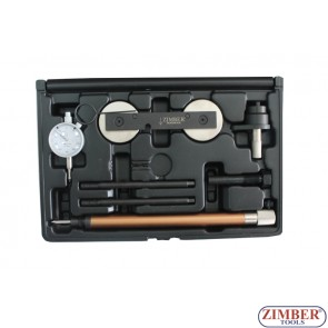 Petrol Engine Twin Camshaft Setting / Locking Tool Set  VAG-VW,AUDI-1.2 TFSI 1.4/1.6FSI 1.4TSI (ZR-36ETTS171) - ZIMBER TOOLS