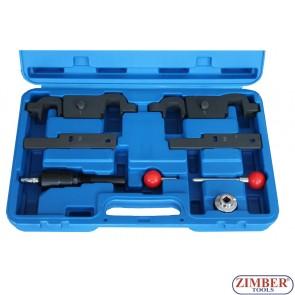 Porshe Cayenne Panamera 4.5-4.8 V8 Timing Tool Camshaft Locking Alignment Kit - ZT-04A2122 -SMANN TOOLS.