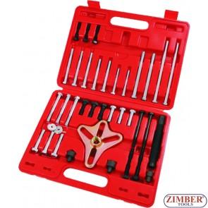 puller-set-gear-steering-wheel-harmonic-balancer-46-pc-zt-04008-smann-tools