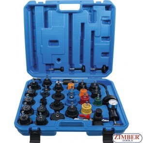 Radiator Pressure and Cooling System Tester | 32 pcs.6867- BGS technic.