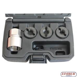 Reverse Action Wheel Stud Thread Restorer Kit - ZR-36RAWSTRK01 - ZIMBER TOOLS.