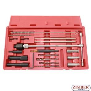 Glow Plug Removal Set (ZR-36GPTS19) - ZIMBER-TOOLS