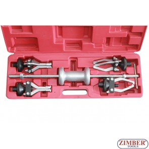 5 Piece Internal & External Gear Bearing Puller Set (ZR-36PSHG05) - ZIMBER TOOLS.