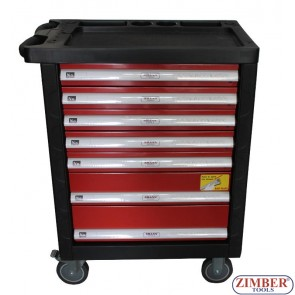 7-Drawer Roller Tool Cabinet  With Hand Tools, ZT-01163 -SMANN TOOLS.
