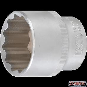 "Socket, 12-point | 12.5 mm (1/2"") Drive | 34 mm-10648-  BGS technic"