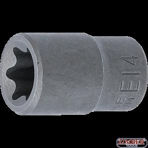 "Socket, E-Type | 10 mm (3/8"") Drive | E14, 6264 - BGS technic."