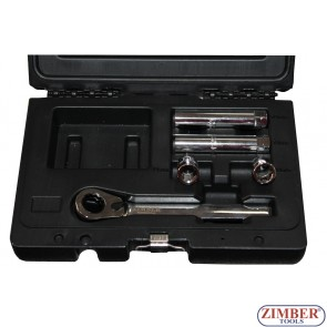 Socket Set VAG Hydraulic Brake/Clutch 5pc - ZR-01SSHC05 - ZIMBER TOOLS