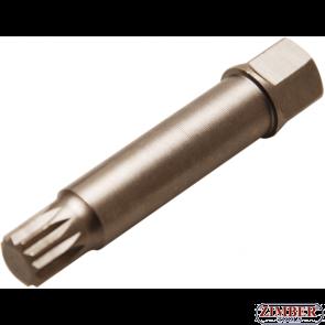 Special Bit for Dismantling Belt Wheels on Alternators | Spline (for XZN) M10 x 64 mm  (4248-3) - BGS technic