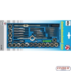 Tap and Die Set 40 pcs. (1894) - BGS technic