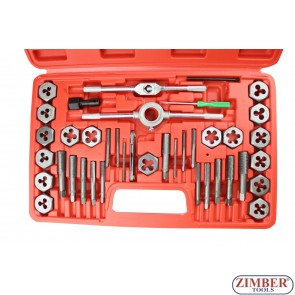 Tap and Die Set  40-piece ,1426 - Neilsen.