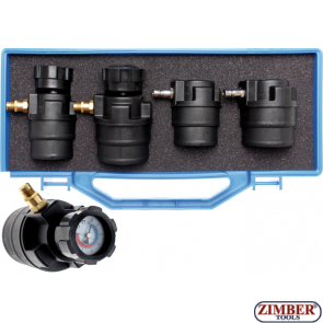 Testing Tool for Turbo Charger Systems with Manometers | 55 - 60 - 65 - 70 mm- 8958- BGS technic.